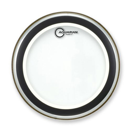 "Aquarian 8"" Studio-X Clear Head"