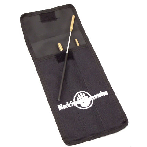 Black Swamp 3-Piece Spectrum Triangle Beater Set with Case