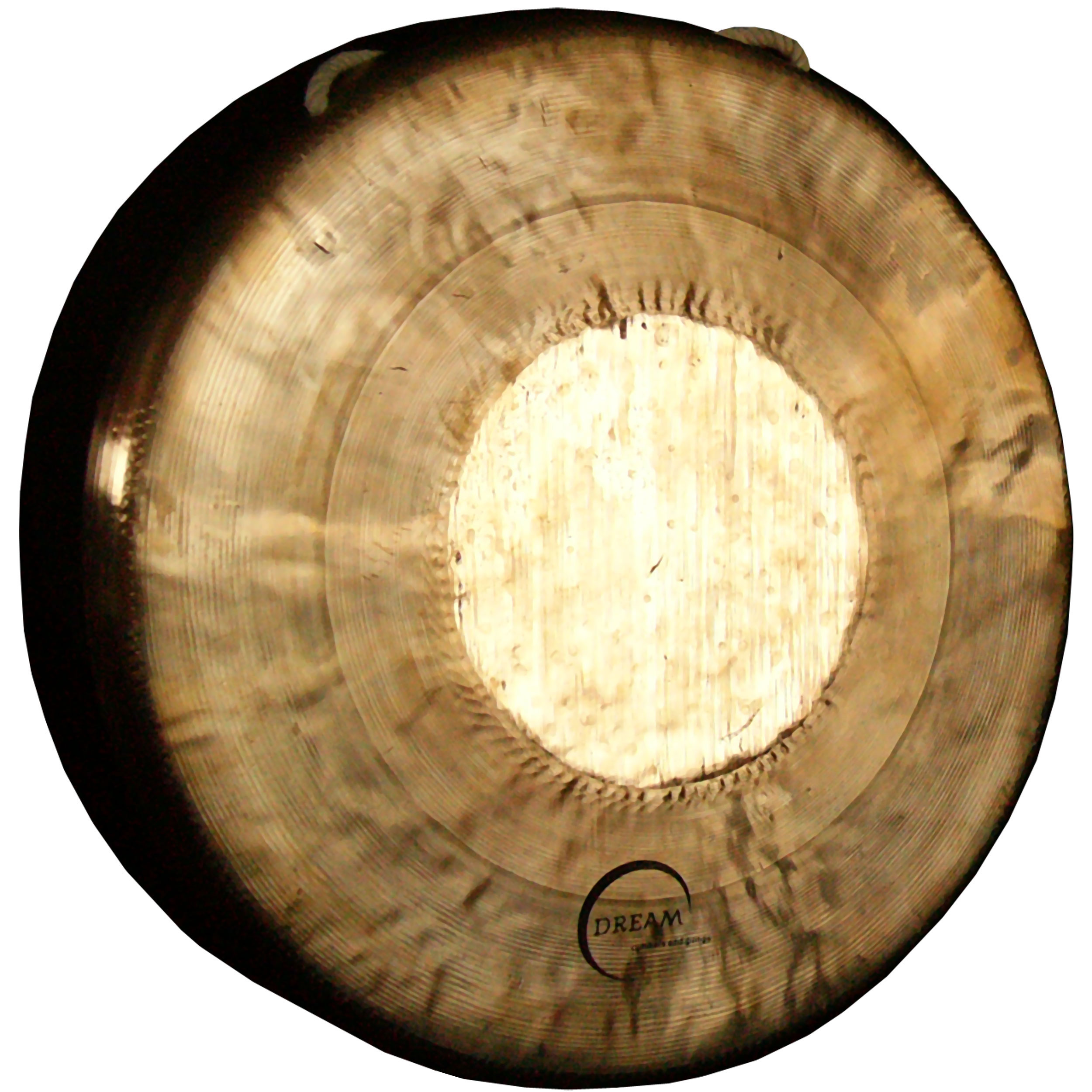"Dream Tiger 14"" Bend Down Gong"
