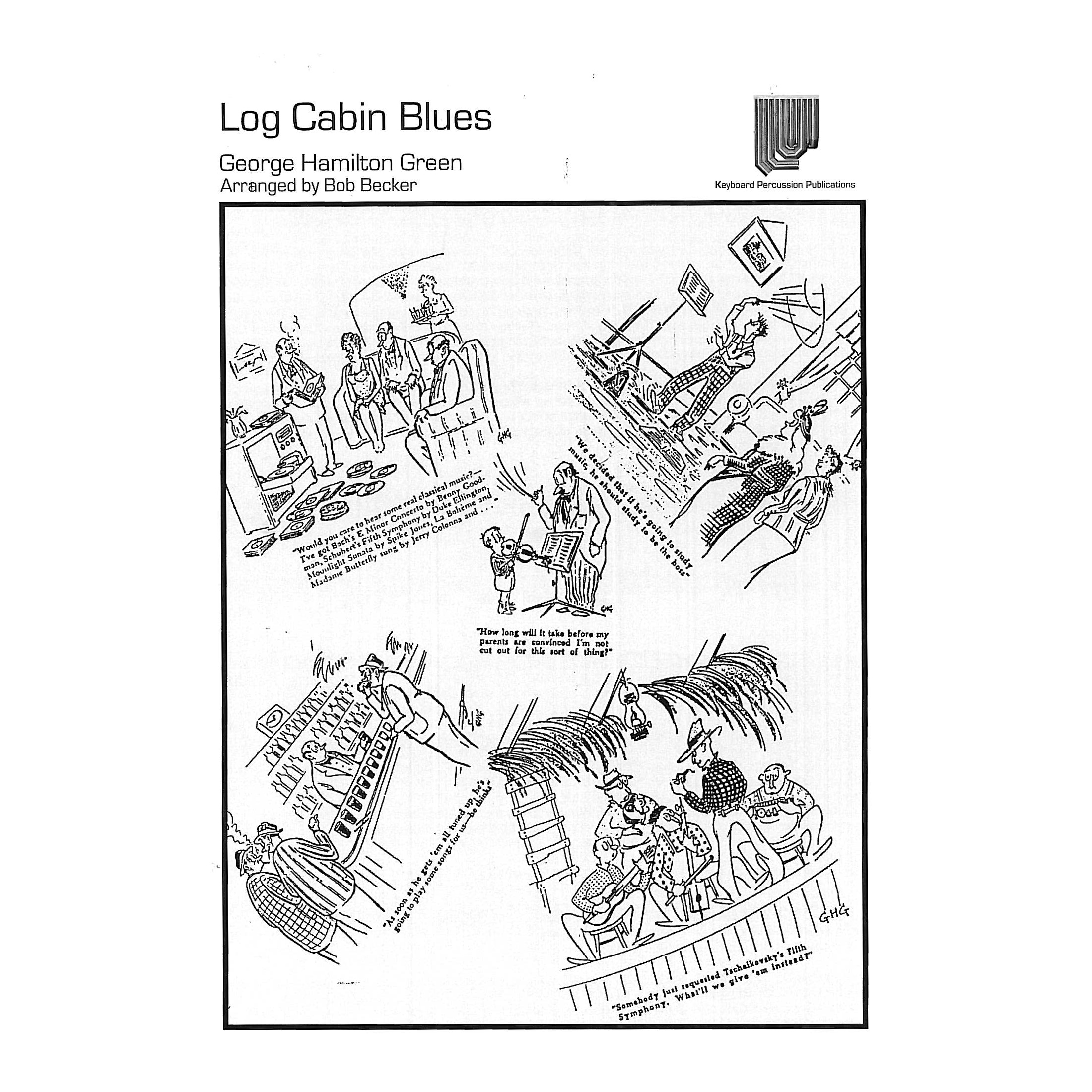 log cabin blues by george hamilton green arr  bob becker