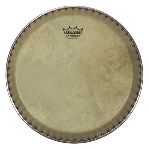 "Remo 12.5"" Symmetry Skyndeep Conga Drum Head (D1 Collar) with Calfskin Graphic"