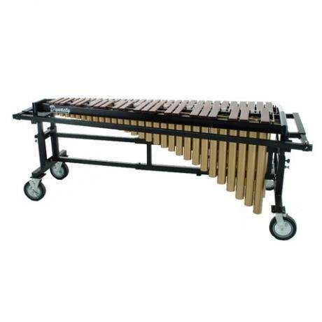 Bergerault 4.3 Octave Performance Series Marimba with Rosewood Bars and Grid Iron Cart