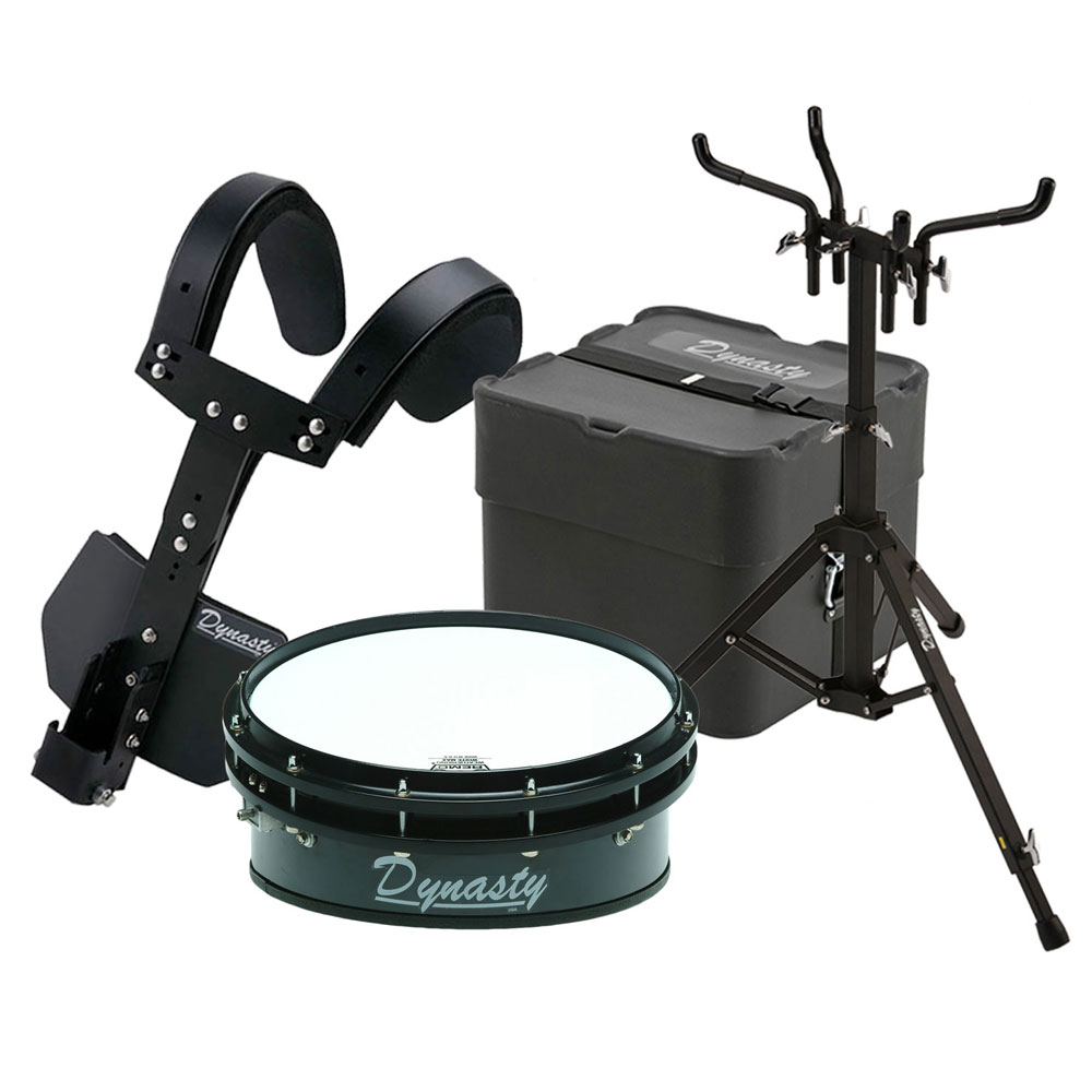 dynasty 14 dfx wedge drum t max carrier case stand marching snare drum bundle ms xw14mcs. Black Bedroom Furniture Sets. Home Design Ideas