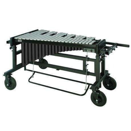 Bergerault Performance Series 3.5 Octave Silver Matte Aluminum Vibraphone with Motor