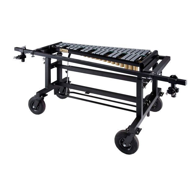 Bergerault 3.0 Octave Performance Pedal Bells (Glockenspiel) with Grid Iron Cart