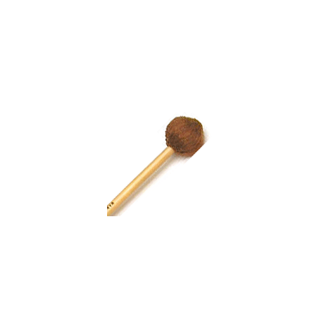Encore Light Brown Soft Yarn Wound Keyboard Mallets with Rattan Shafts
