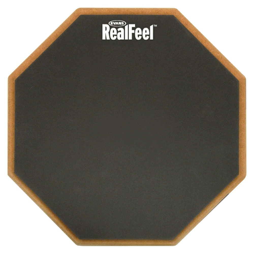 "Evans 12"" RealFeel Single-Sided Speed Practice Pad"