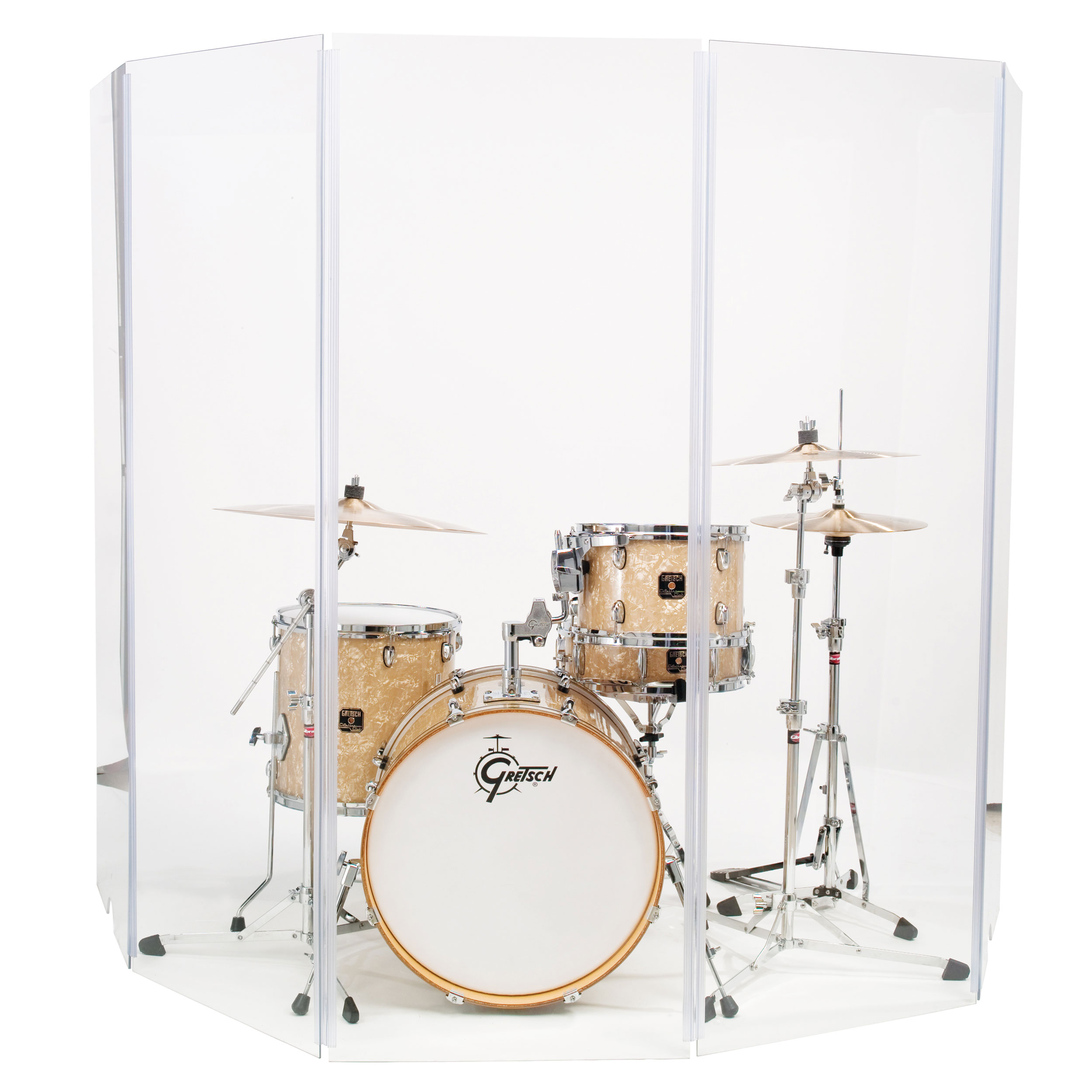 Gibraltar 5-Piece Drum Shield