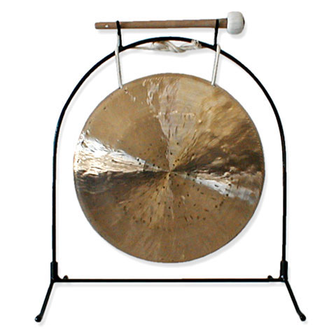 "Han Chi 2 Piece Gong Stand; 6-12"" Gong"