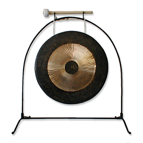 "Han Chi 2 Piece Stand; 12-18"" Gong"