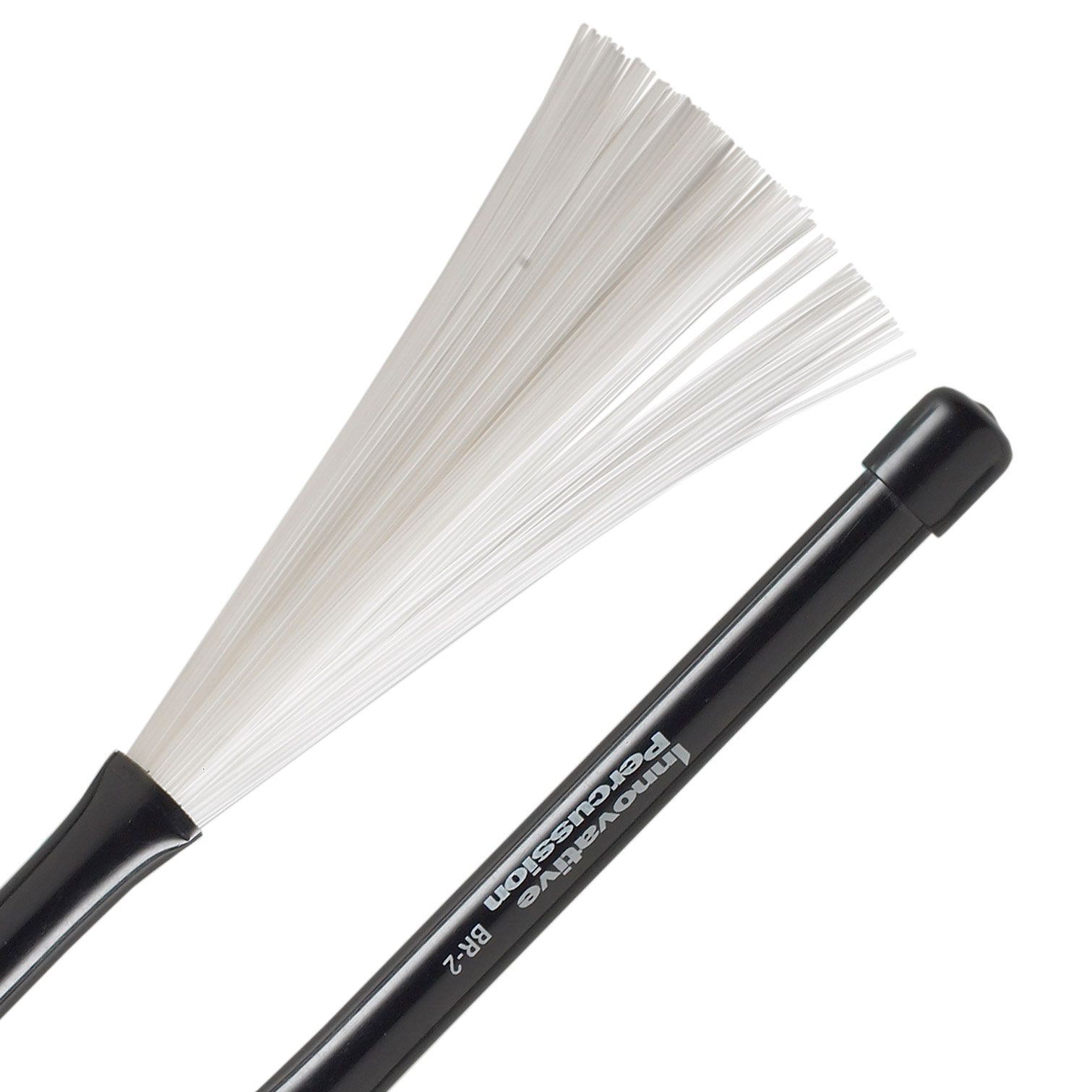 Innovative Percussion Medium Retractable Plastic Brushes