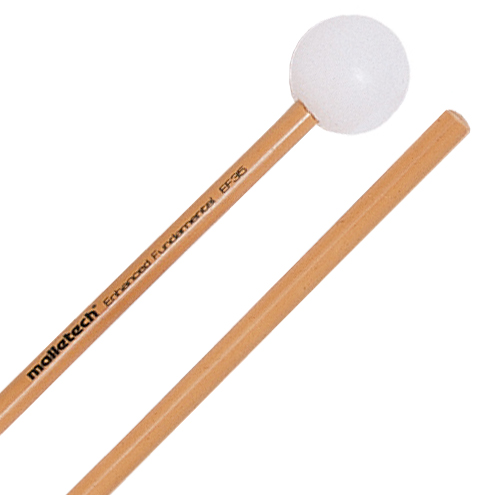 Malletech Enhanced Fundamental Medium Xylophone Mallets with Birch Shafts