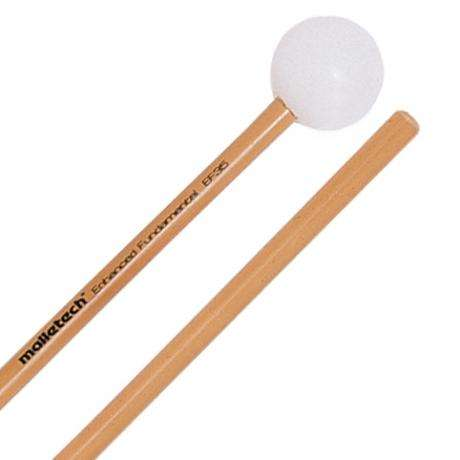 Malletech Enhanced Fundamental Medium Xylophone Mallets with Rattan Shafts