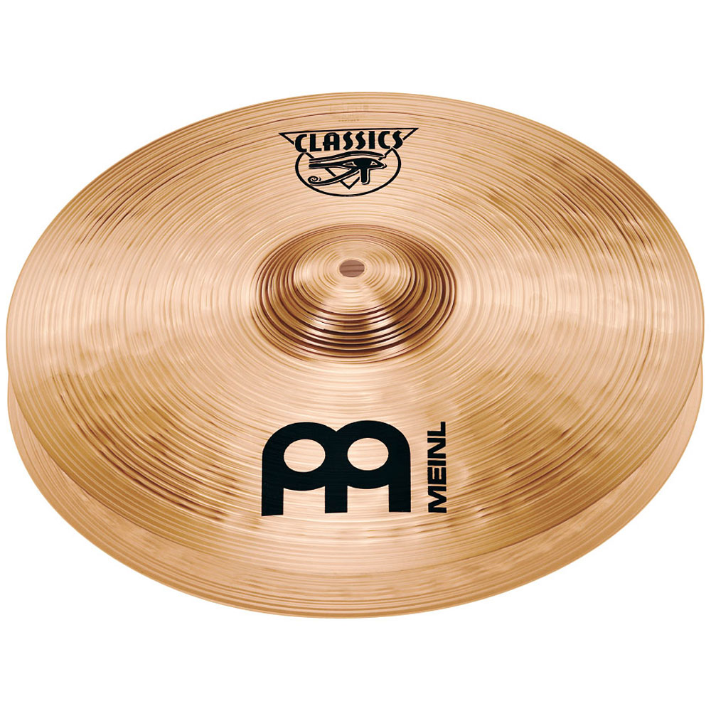"Meinl 14"" Classic Powerful Hi Hat Cymbals"