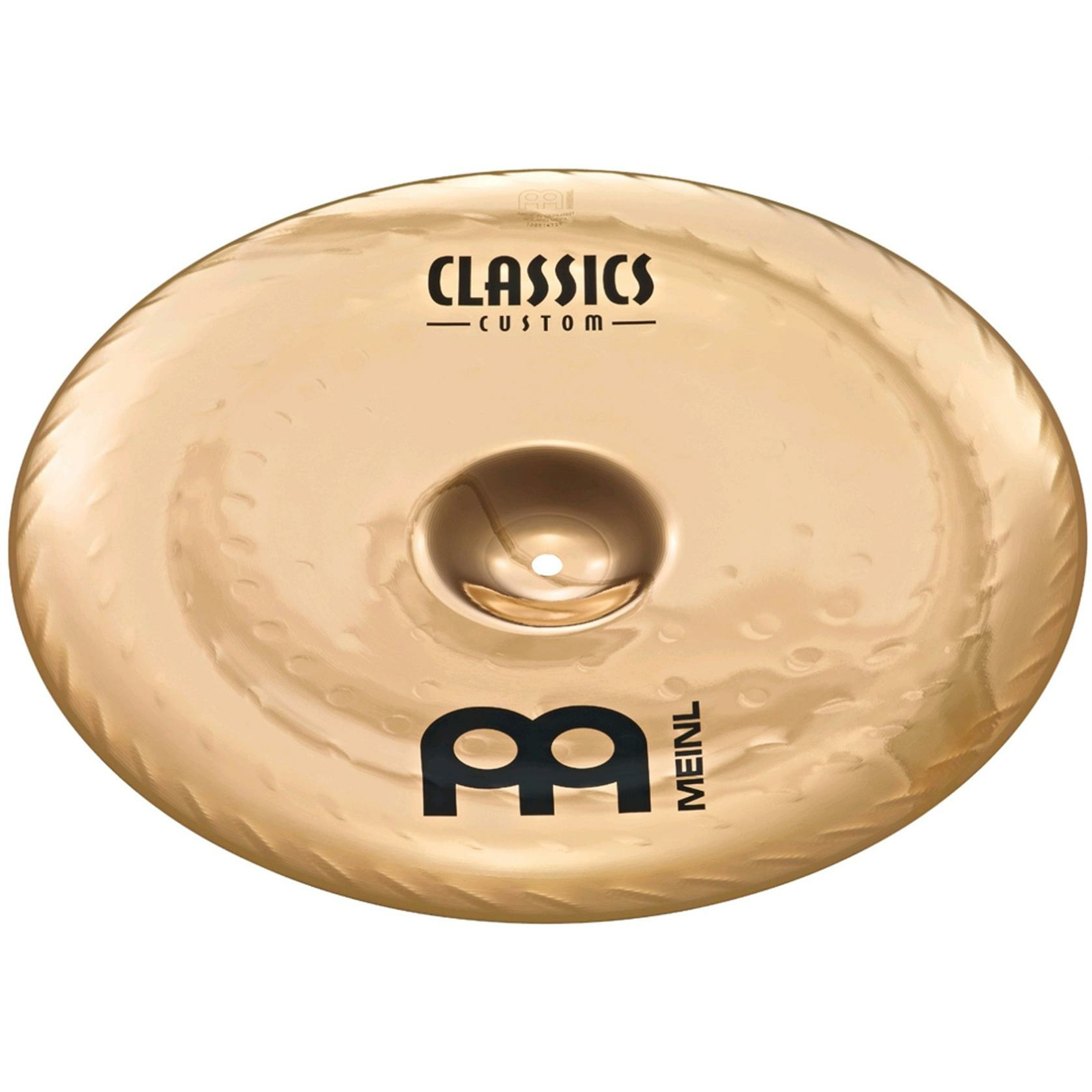 "Meinl 16"" Classics Custom Extreme Metal China Cymbal"
