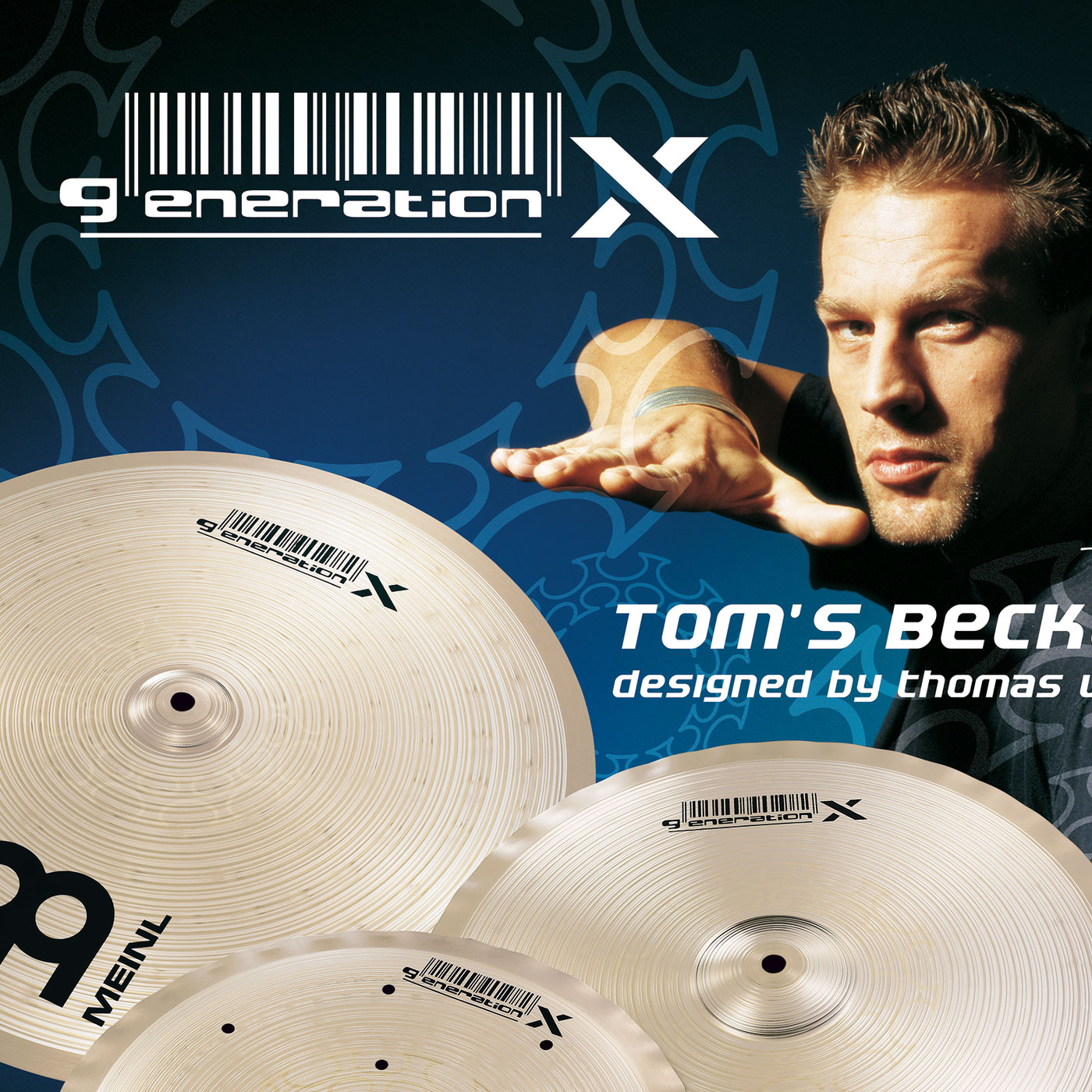 "Meinl Generation X ""Tom"