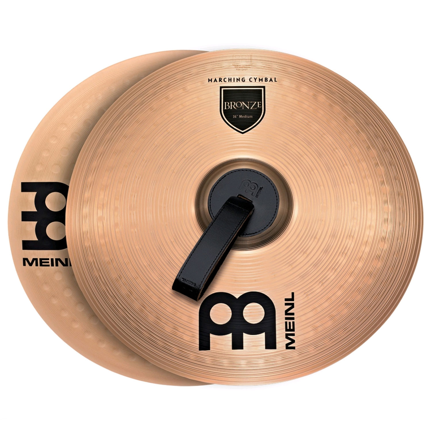 "Meinl 16"" Medium B8 Student Marching Cymbals Pair"
