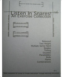 Listen in Snares! by Michael A. Hernandez and Shawn Schietroma