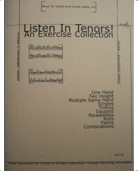 Listen in Tenors! by Michael A. Hernandez and Shawn Schietroma