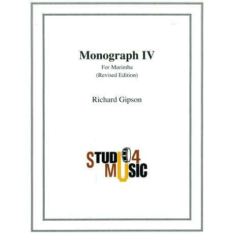 Monograph IV by Richard Gipson