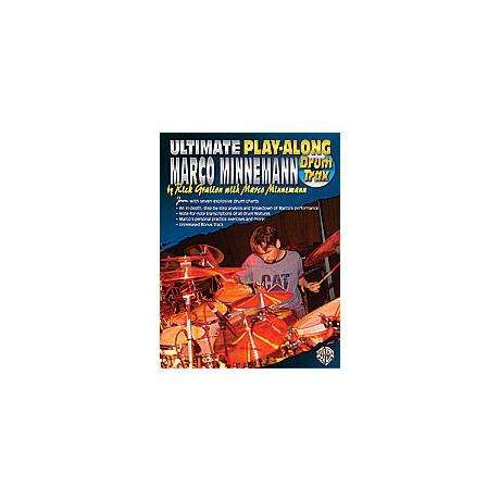 Ultimate Play-Along Drum Trax: Marco Minneman Drum Set Book