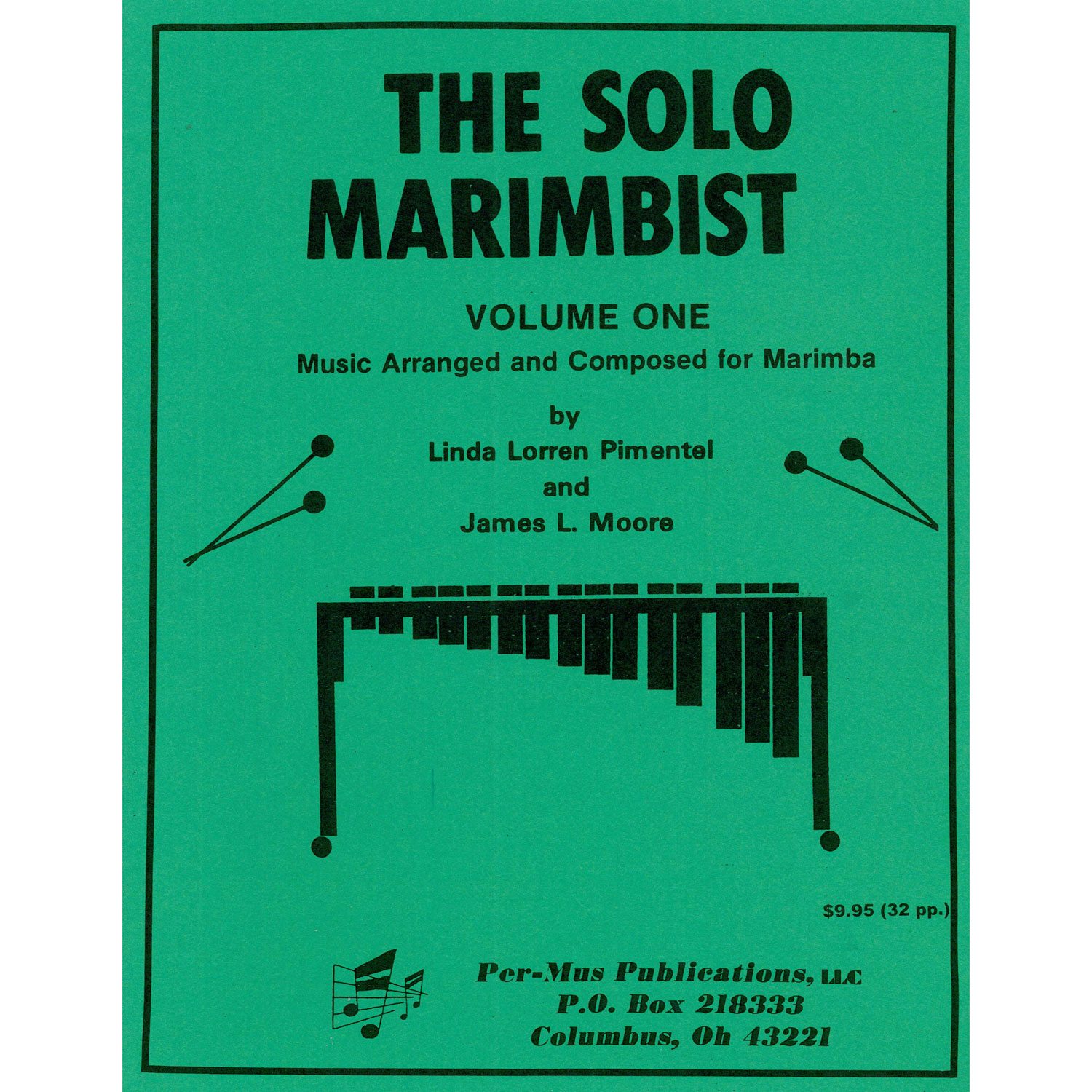 The Solo Marimbist Vol. 1 by Linda Pimentel & James Moore