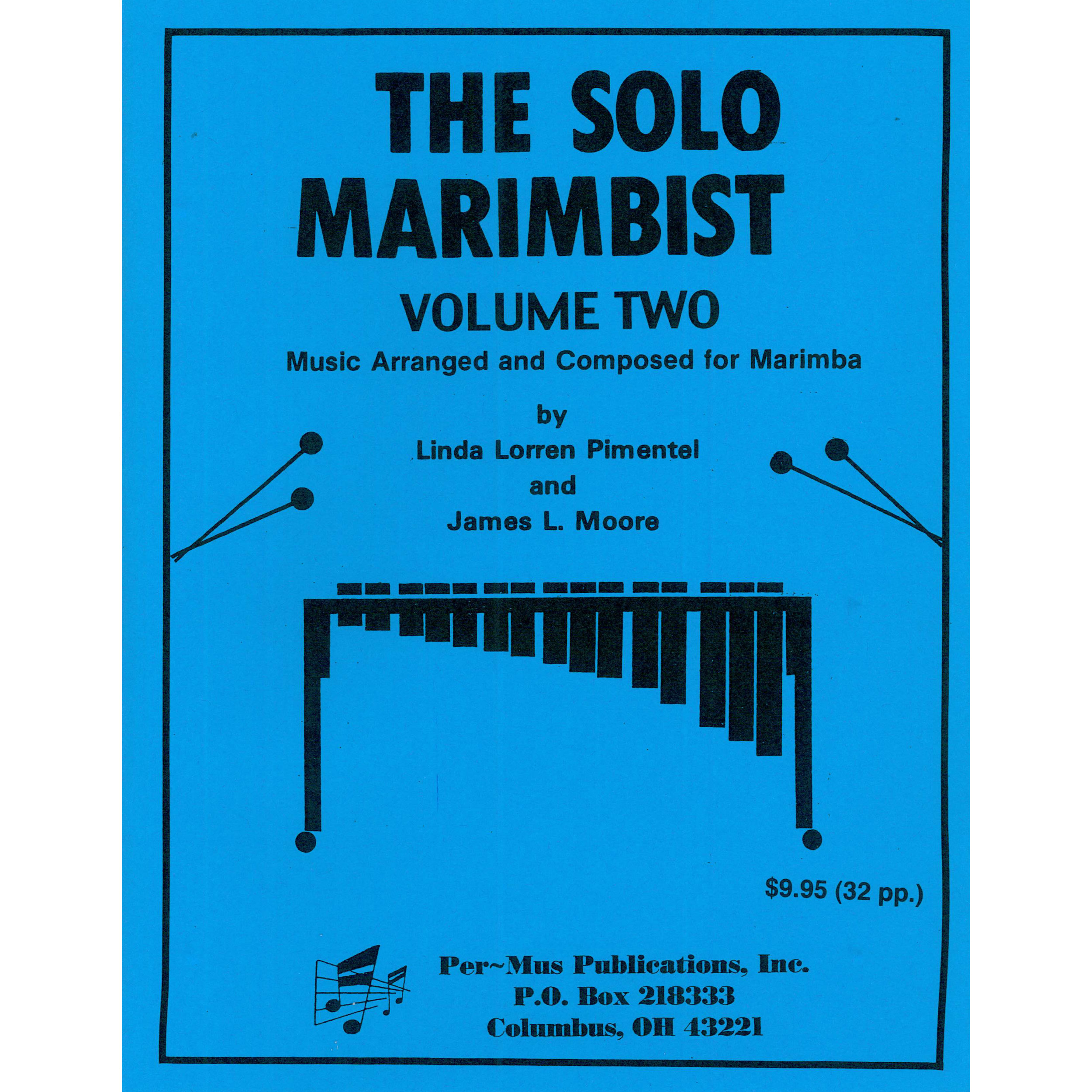 The Solo Marimbist Vol. 2 by Linda Pimentel & James Moore