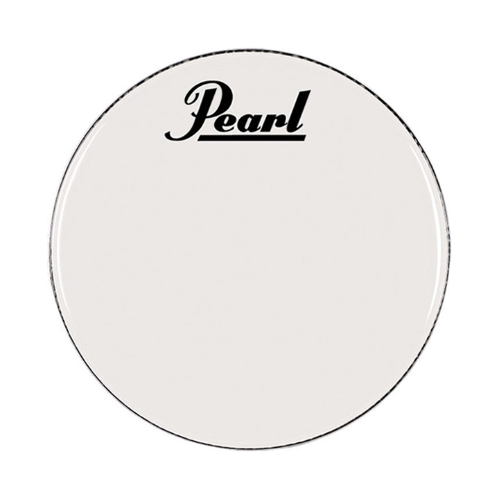 "Pearl/Remo 14"" Smooth White Ambassador Marching Bass Head"