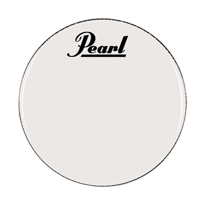 "Pearl 16"" Smooth White Marching Bass Head"