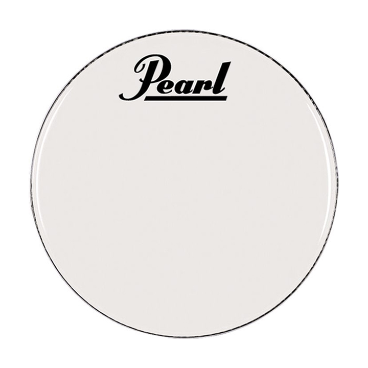 "Pearl 18"" Smooth White Marching Bass Head"