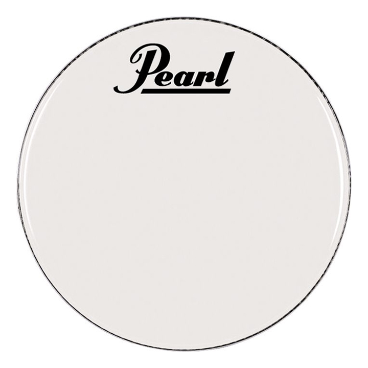 "Pearl/Remo 26"" Smooth White Ambassador Marching Bass Head"