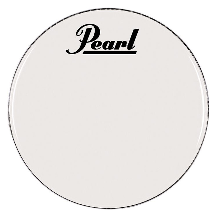 "Pearl/Remo 28"" Smooth White Ambassador Marching Bass Head"