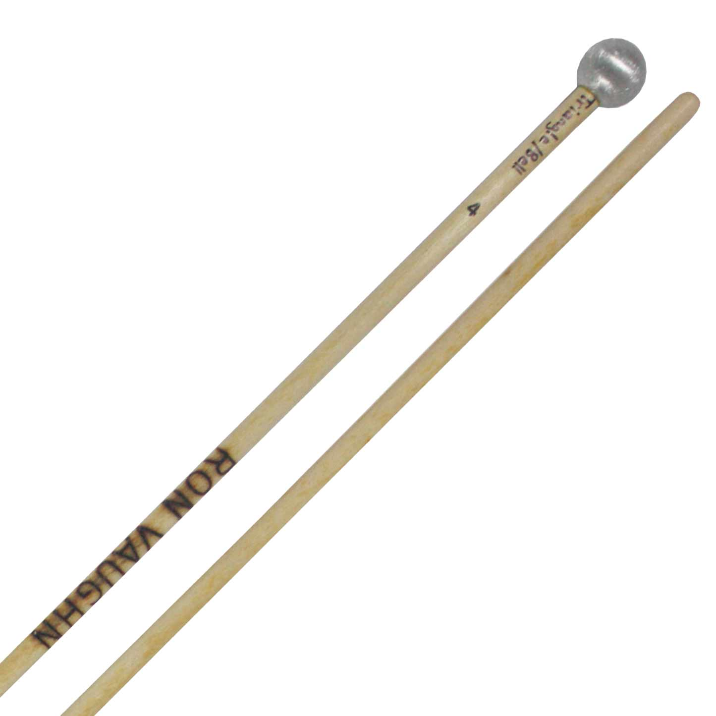 Ron Vaughn Petite Triangle Mallets with Rattan Shafts