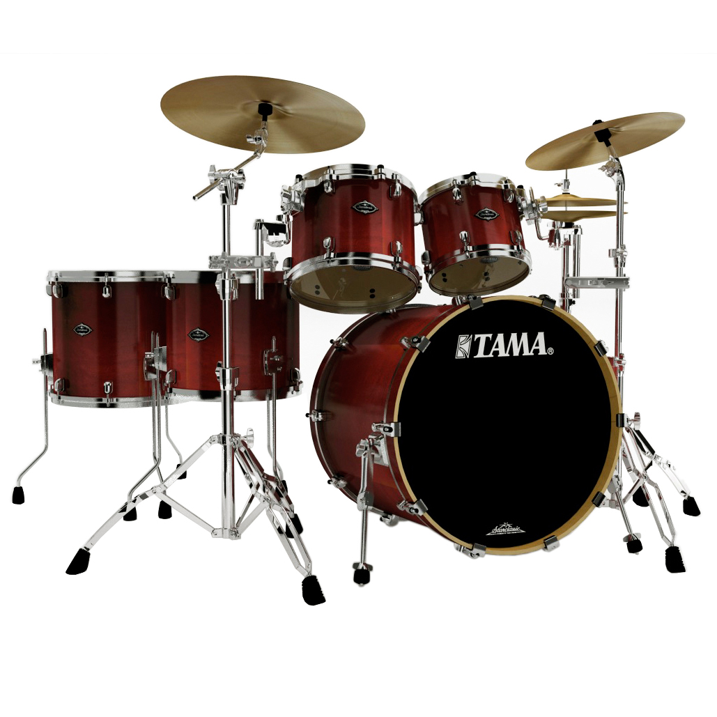 "Tama Starclassic Performer B/B 5-Piece Drum Set Shell Pack (22"" Bass, 10/12/14/16"" Toms)"