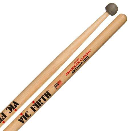 Vic Firth American Classic 5B Chop-Out Practice Drumsticks