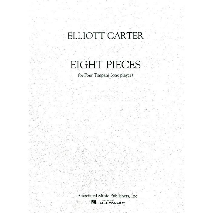 Eight Pieces for 4 Timpani by Elliott Carter