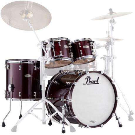 Pearl Reference Pure 4-Piece Drum Set Shell Pack (20