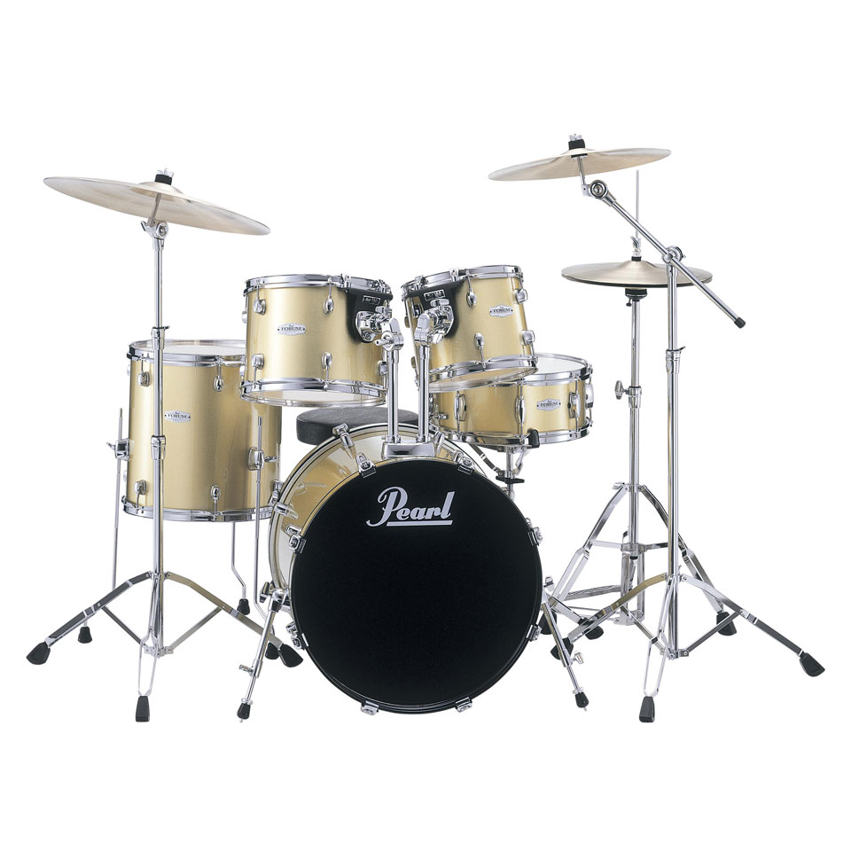 Pearl Forum 20B-14S-10-12-14F Drum Set (FZH705D) | Lone ...