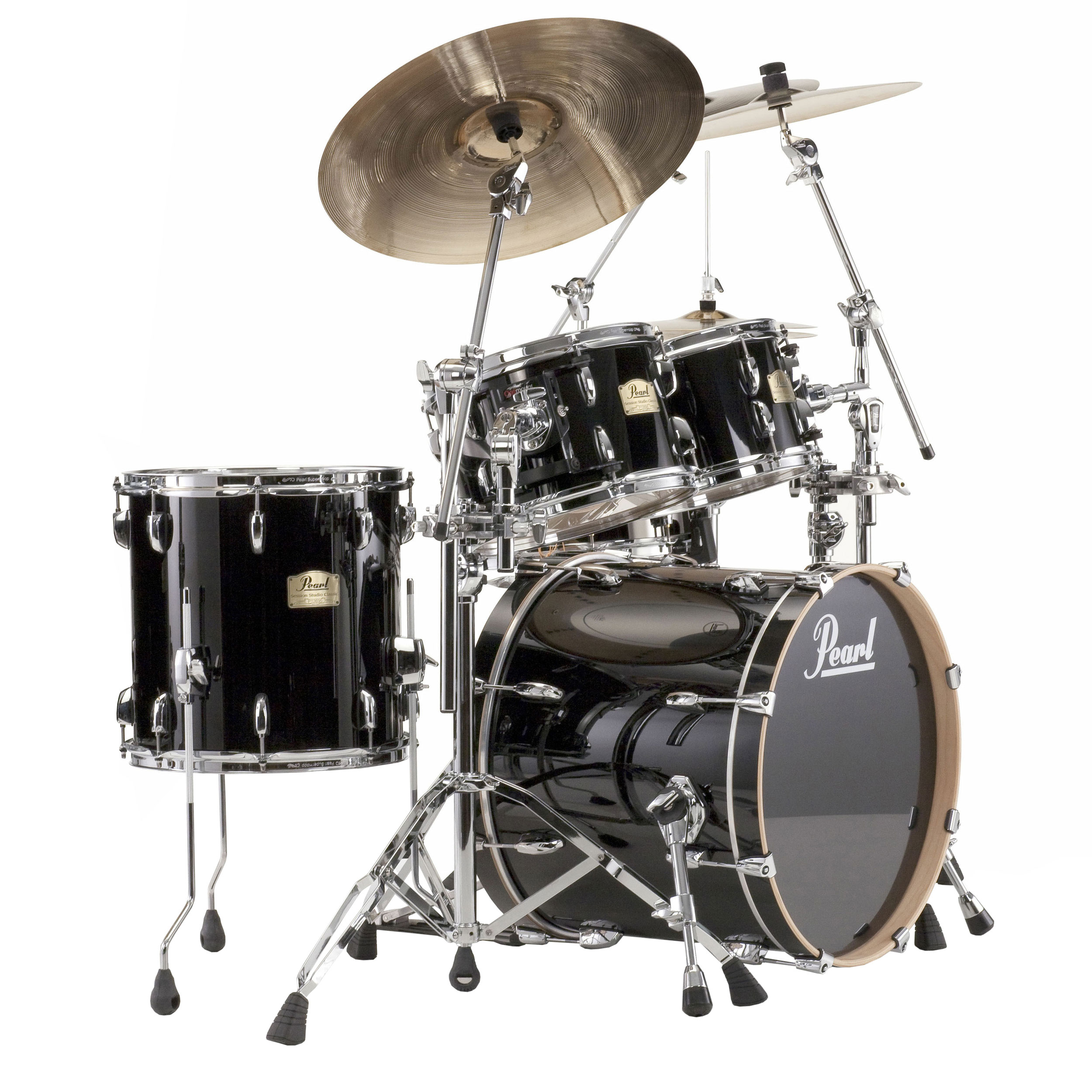 "Pearl Session Studio Classic 4-Piece Drum Set Shell Pack (20"" Bass, 10/12/14"" Toms)"