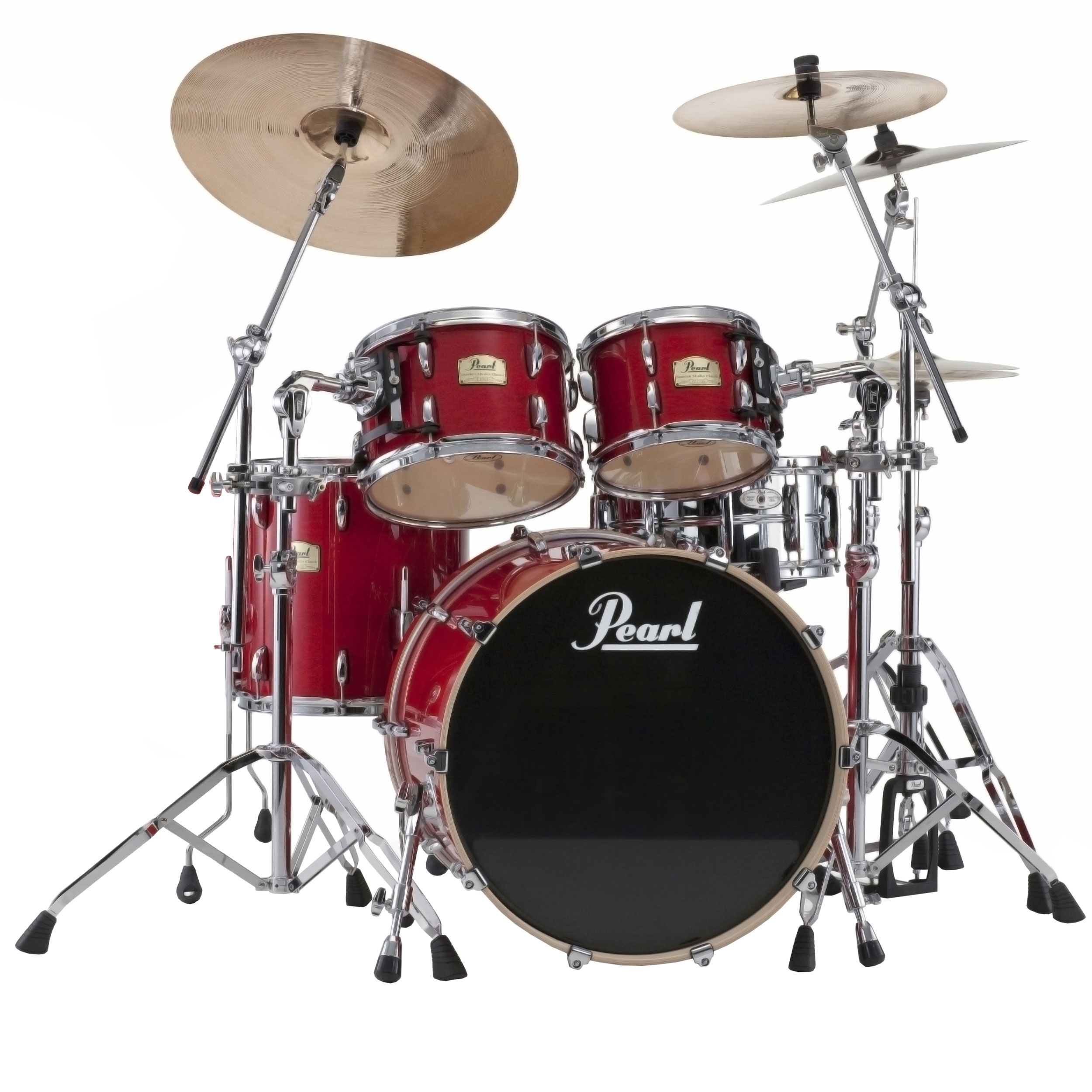 "Pearl Session Studio Classic 4-Piece Drum Set Shell Pack (22"" Bass, 10/12/16"" Toms)"