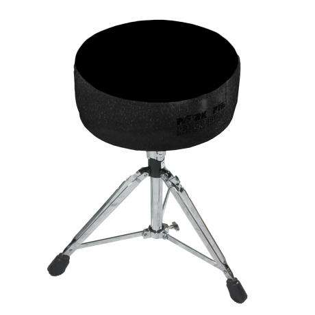 Pork Pie Round Seat Black Sparkle/Black Drum Throne