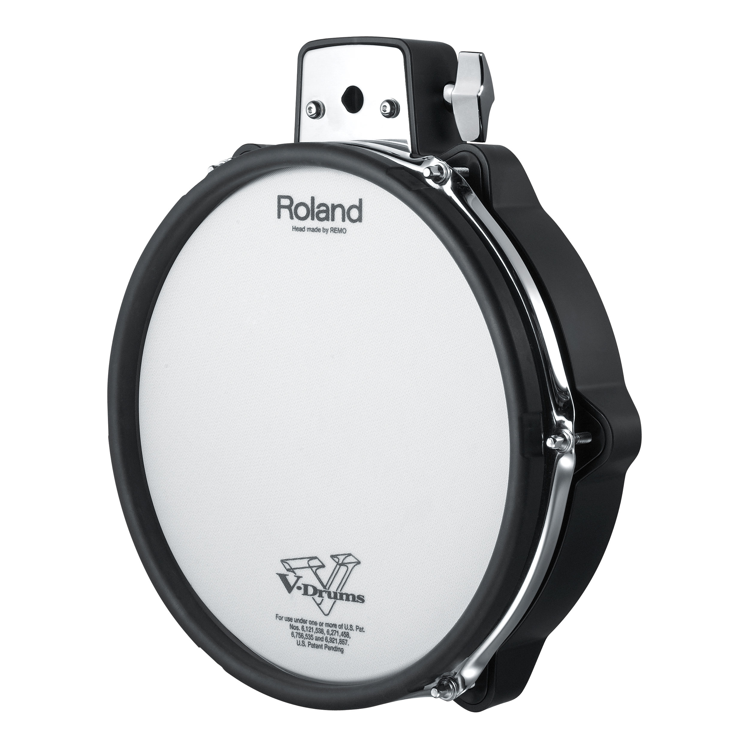 "Roland 10"" V-Pad Tom for TD-30K, Black Chrome"