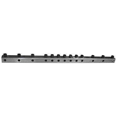 Ron Vaughn Percussion 10 Position Mounting Bar