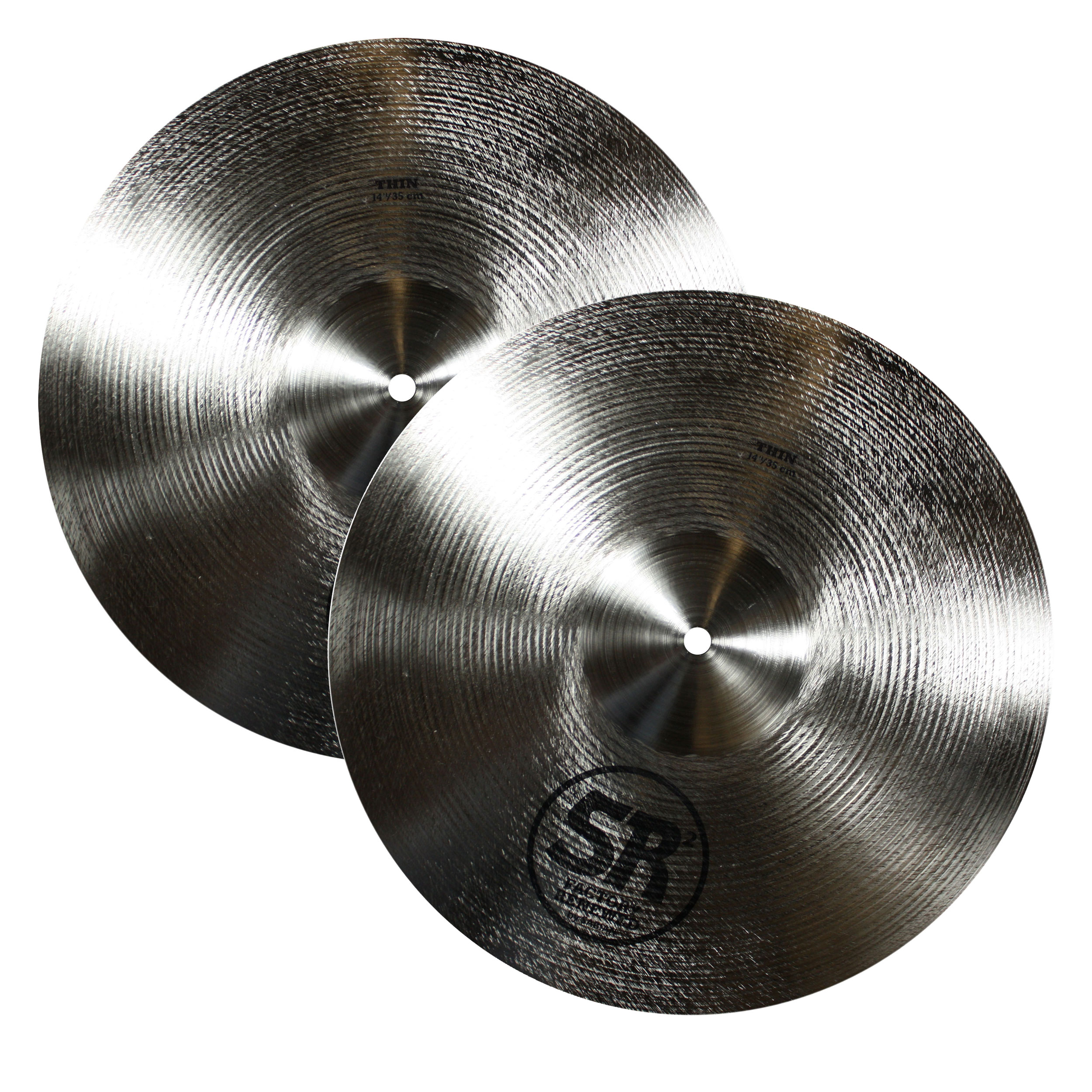"Sabian 14"" SR2 Band & Orchestra Light Crash Cymbal Pair"