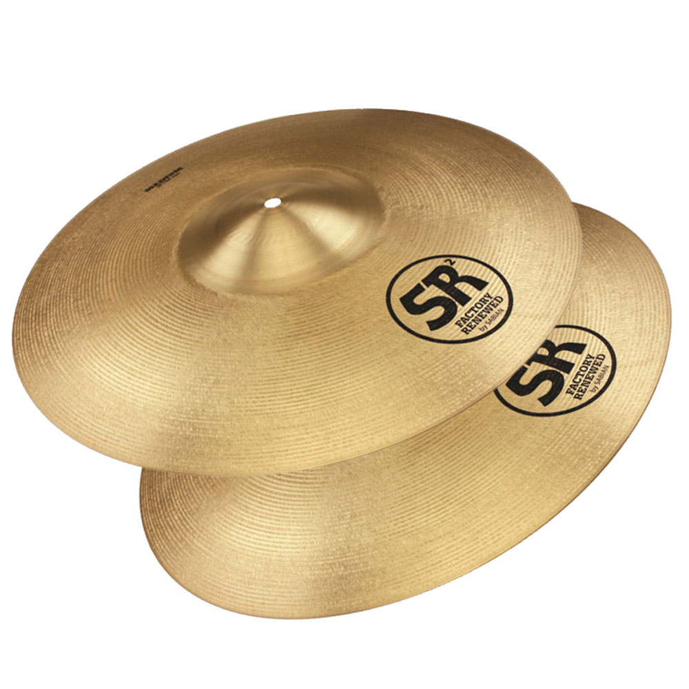 "Sabian 16"" SR2 Band & Orchestra Medium Crash Cymbal Pair"