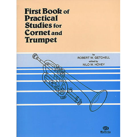 First Book Practical Studies Trumpet 1 by Getchell ed. Hovey