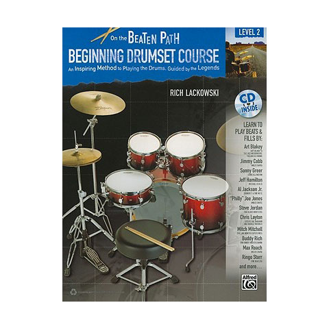 On the Beaten Path: Beginning Drum Set Course - Level 2 by Rich Lackowski