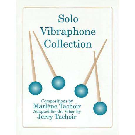 Solo Vibraphone Collection by Marlene Tachoir and Jerry Tachoir