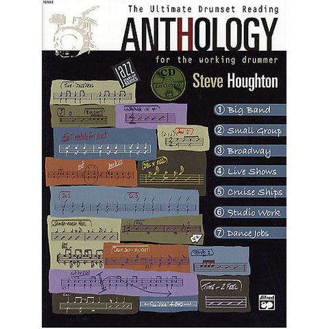 The Ultimate Drum Set Reading Anthology by Steve Houghton