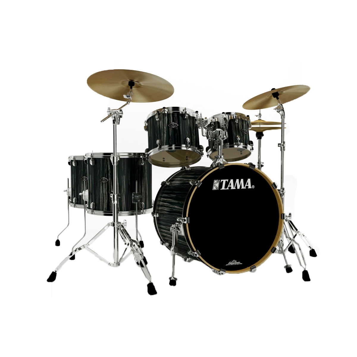"Tama Starclassic Performer B/B 5-Piece Drum Set with Hardware (22"" Bass, 10/12/14/16"" Toms)"